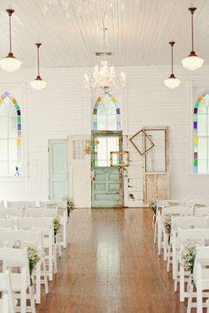 ♥Portas na decoração de casamento...