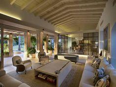Sala : Salones rústicos rústicos de Artigas Arquitectos