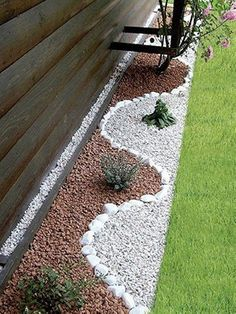 Garden Landscaping with Stones