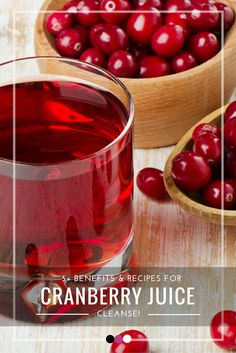 What is a cranberry juice cleanse all about? Time to find out!