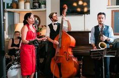 London based jazz act Amy and the Swing Beats are a female fronted quintet comprising vocalist, drums/backing vocals, double bass/backing vocals, sax and piano. They perform an excellently diverse set of songs from acts such as Ella Fitzgerald, Cab Calloway and many more.