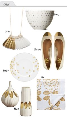 White and Gold, want everything....
