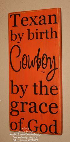Oklahoma State University Wall Art OSU Cowboys by DeenasDesign, $33.00
