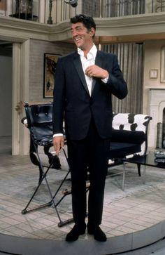 Dean Martin during rehearsal of The Dean Martin tv Show -undated.