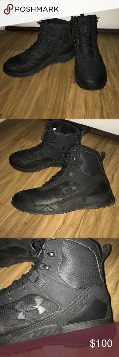 Men's Under Armour Security Boots Size 12, boyfriend only used for one week! Extremely comfortable! Under Armour Shoes Boots