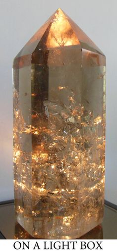 Natural Citrine Crystal Point, Brazil   - Ancient One, Grand Joy, Love, Healing and Beautiful Change.