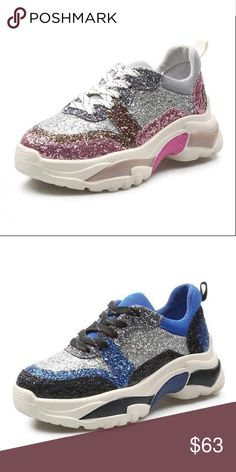 best service 2aa5a cada5 Woman Sequin Shining Sneakers