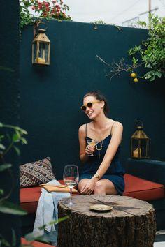 M'agrada el color per les parets de la terrassa