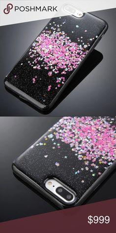 """🔜 NEW iPhone 7/8 Plus SOFT TPU Pink Glitter Case COMING SOON! """"Like"""" To Be Notified!   ▪️Fits iPhone 7 or 8 Plus Model    ▪️High Quality Soft TPU - Thick and easy to remove      ▪️Same or Next Business Day Shipping ! Accessories Phone Cases"""