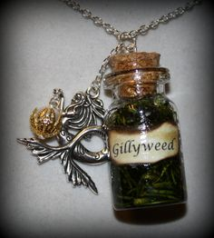 INSPIRED Harry Potter Series Gillyweed Potion Bottle by Christalinasales, $25.00