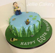 Drunken fisherman cake
