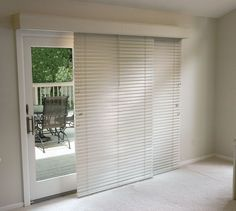 Charmant The Glider Blinds Track Is A Great Solution For Horizontal. Blinds For  Patio DoorsSliding ...