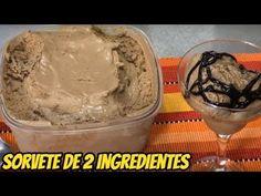 SORVETE DE 2 INGREDIENTES – RENDE 2 LITROS – SUPER ECONÔMICO – Manual da Cozinha