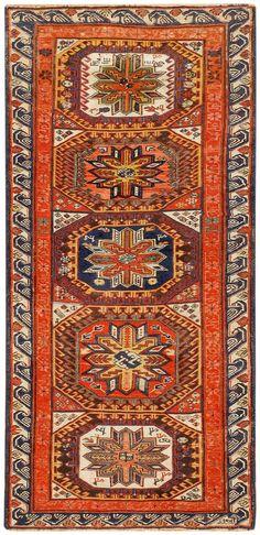 Antique Caucasian Soumak Rug 47469 Main Image - By Nazmiyal