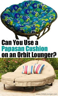 Orbit Lounger Replacement Cushions in 3 new patterns ...