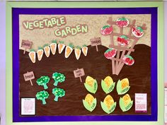 Vegetable garden. Growing Gardens. Infant art projects. Infant classroom. Garden Crafts For Kids, Preschool Garden, Daycare Crafts, Baby Crafts, Toddler Crafts, Preschool Activities, Infant Crafts, Preschool Decor, Daycare Rooms