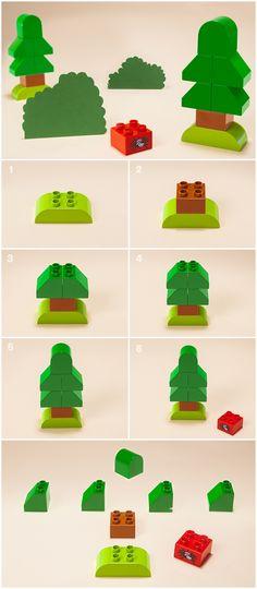 One mini LEGO® DUPLO® DIY tree, a whole load of learning fun - Articles - Family LEGO.com