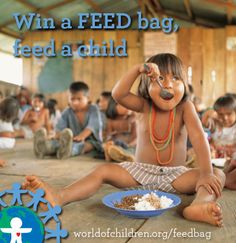 Win a FEED bag and help feed a child in need.