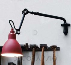 #wall_lamp #walllamp #interior #design Светильник настенный накладной Lampe Gras Classic Lamps, 203BL-RED ROUND