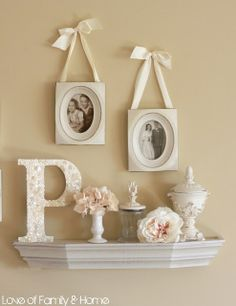 Декор для дома буквы. Идеи декор своими руками.