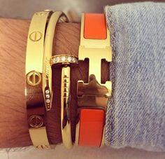 6c19d97cf5b hermes bracelets Hermes Jewelry, Hermes Bracelet, Cartier Jewelry, Jewelry  Watches, Layered Jewelry
