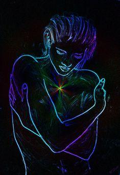 'Sprache des Herzens 2' von Walter Zettl bei artflakes.com als Poster oder Kunstdruck und Grußkarte