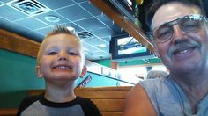 Lunch with my little guy