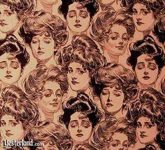 """Gibson Girls"" by illustrator Charles Dana Gibson"