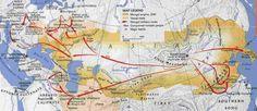 mongol invasion map - Szukaj w Google