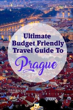 If you're heading to Prague you have to check out my ultimate Prague travel guide. It includes 6 tips on how to do Prague on a budget plus so much more! babies flight hotel restaurant destinations ideas tips Europe Destinations, Europe Travel Tips, European Travel, Travel Guides, Travel Packing, Budget Travel, Solo Travel, Backpacking Europe, Prague Travel Guide