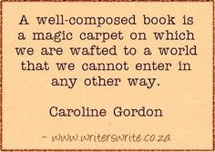 Quotable - Caroline Gordon - Writers Write