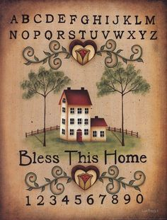 Bless This Home (Lisa Kennedy)