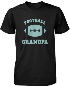 Football Grandpa Graphic Shirt Set Cute Christmas Gift Idea for Grandfather