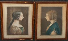 Samuel Arlent Edwards BEATRICE D'ESTE (1475-1497) Italian Art, End Of Summer, Genealogy, Auction, Prints, House, Painting, Color, Italian Renaissance
