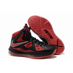 5d0cf63443b Cheap Nike Lebron 10 Shoes For Sale Black Varsity Red Red Medal 541100 402