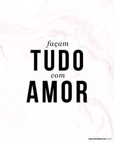 """""""Façam tudo com amor."""" 1 Coríntios 16:14  #30daysofbiblelettering () maisoverflow.com  X"""