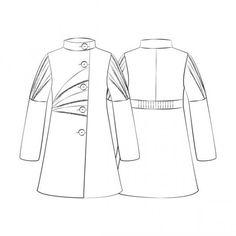 Patron manteau femme gratuit a imprimer