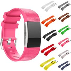 Replacement Silicone Watch Wrist Sports Band Strap For Fitbit Charge 2 Wristband #Unbranded