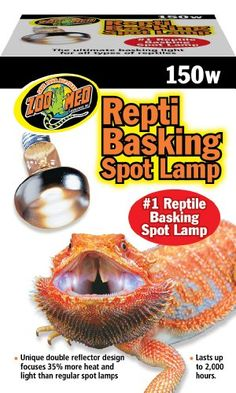 Zoo Med Reptile Basking Spot Lamp 150 Watts « Pet Lovers Ads