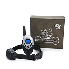 FGN Dog Training Collar with Wireless Remote, Adjustable E Collar, Durable Water Proof Rechargeable Control Operation for Large, Medium and Small Dog