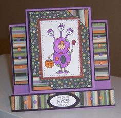 Center Step Card by sbs81 - Cards and Paper Crafts at Splitcoaststampers