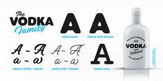 Vodka Typeface on Behance
