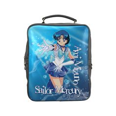 Sailor Mercury New Square Backpack (Model 1618)
