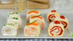 Rollitos de canapés con pan de molde ¡3 ideas de aperitivo rápidas y fáciles! - Juanan Sempere Canapes Faciles, Learn A New Skill, Cool Eyes, Meals, Cooking, Ethnic Recipes, Food, Curry, Salads