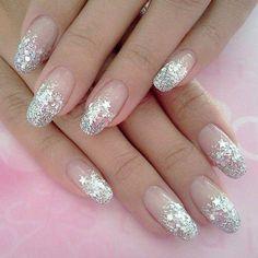 Easy Stylish wedding nail art designs