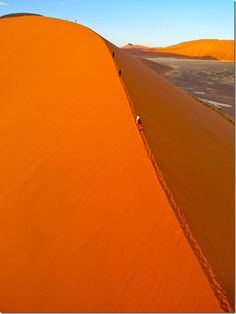 Visit the desert in Namibia