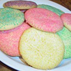 Powdered Sugar Cookies I Allrecipes.com