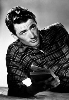 Gregory Peck. Wonderful actor. Does anyone know if this photo is from To Kill A Mockingbird?
