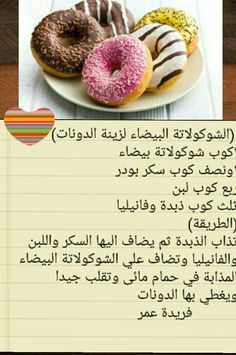 Arabic Dessert, Arabic Food, Beignets, Sweets Recipes, Cooking Recipes, Baking Conversion Chart, Cake Business, Cake Decorating Tips, Happy Family