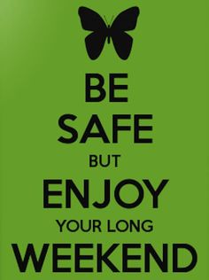 Happy Long Weekend! Have fun! Get out and enjoy Summer 2014 #longweekend #summer #VictoriaBC pauldacostasalon.ca